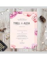 Partecipazione nozze personalizzate