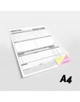 Blocchi A4 in carta chimica