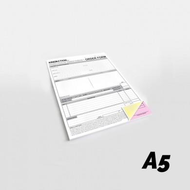 Blocchi A5 in carta chimica